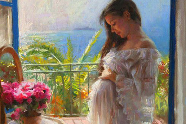 живопись для беременных: