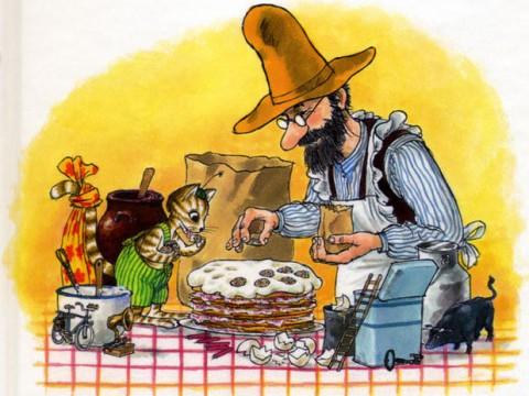 Нурдквист Именинный пирог